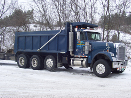Heavy Equipment Hauling & Dump Truck Services in Vermont & NH.
